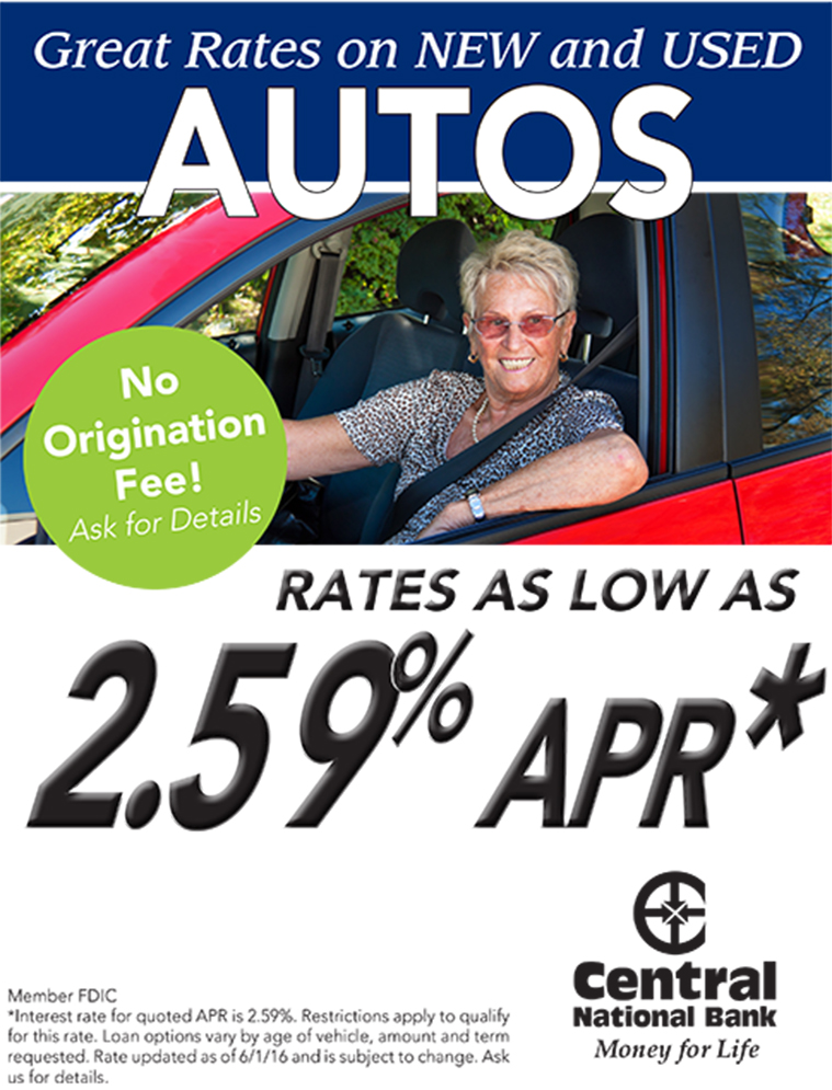 Summer Auto Loan Special!