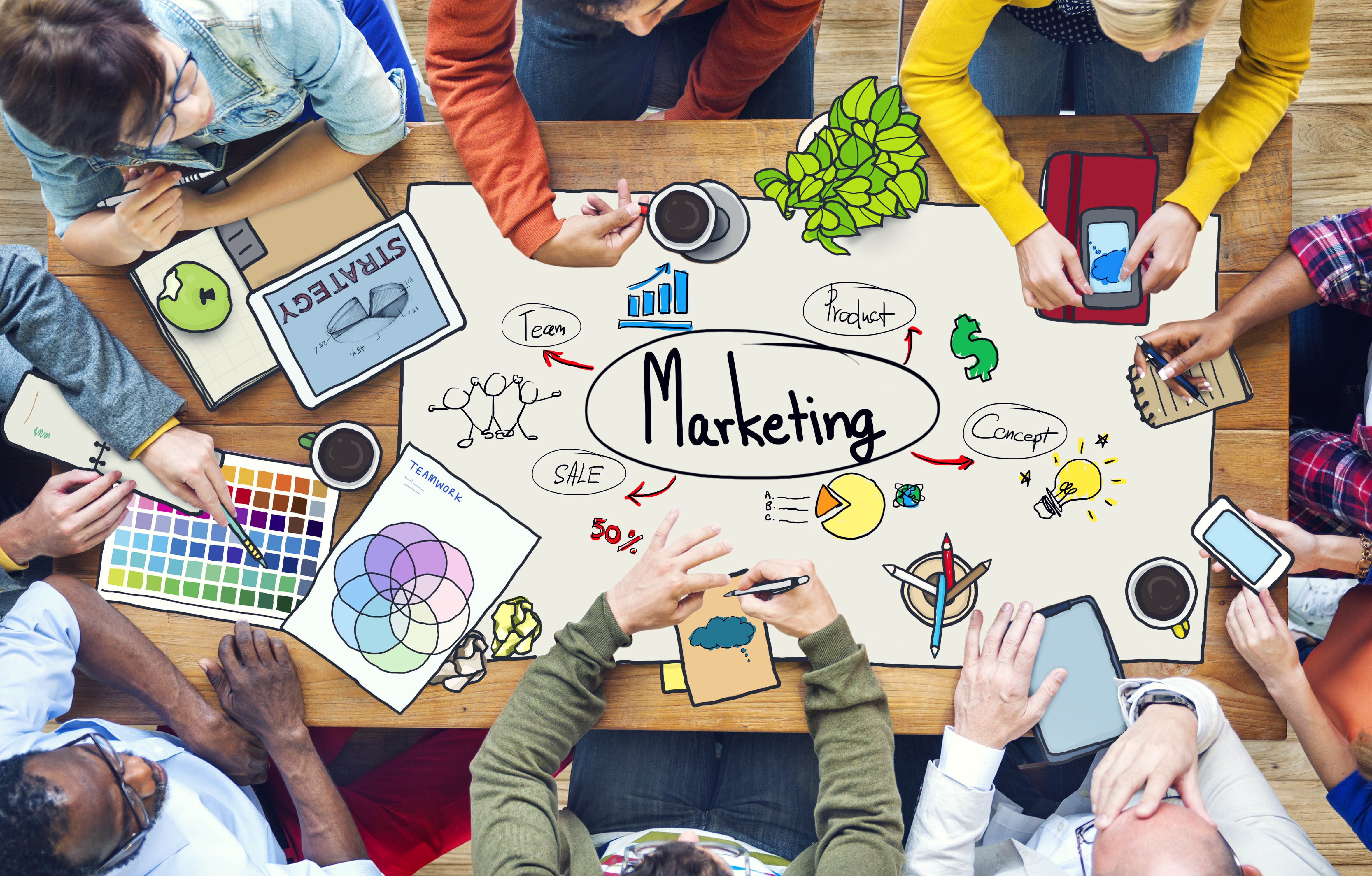 Top 5 Marketing Ideas for Small Businesses