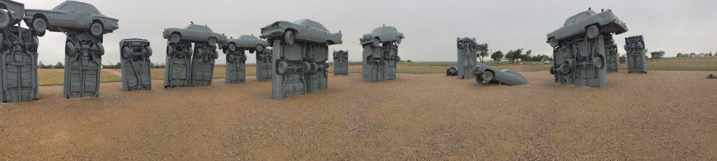 Carhenge near Alliance, Nebraska