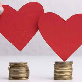 What does Valentine's Day have to do with banking?